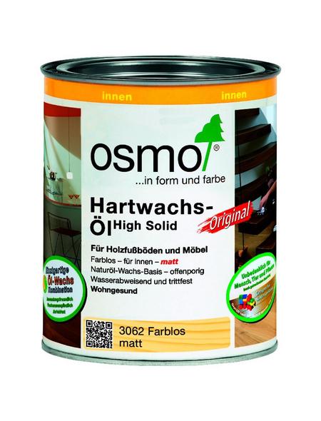 OSMO Hartwachsöl »High Solid«, farblos, matt, 0,75 l