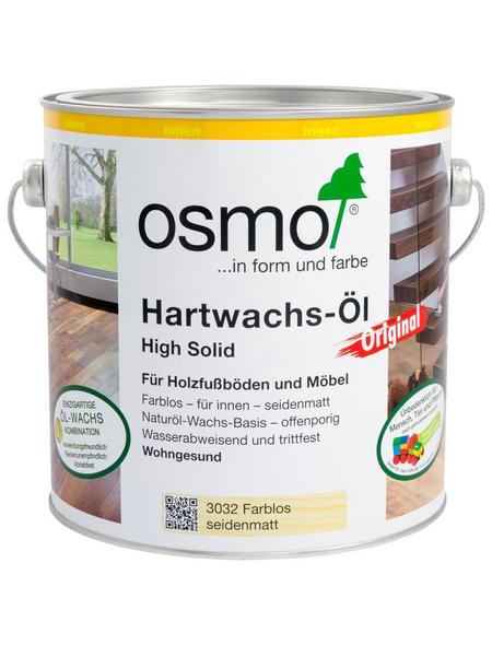 OSMO Hartwachsöl »High Solid«, farblos, seidenmatt, 2,5 l
