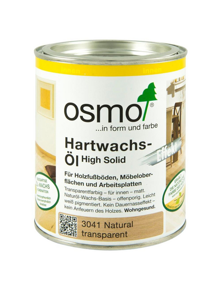 OSMO Hartwachsöl High Solid natural 0,75 l