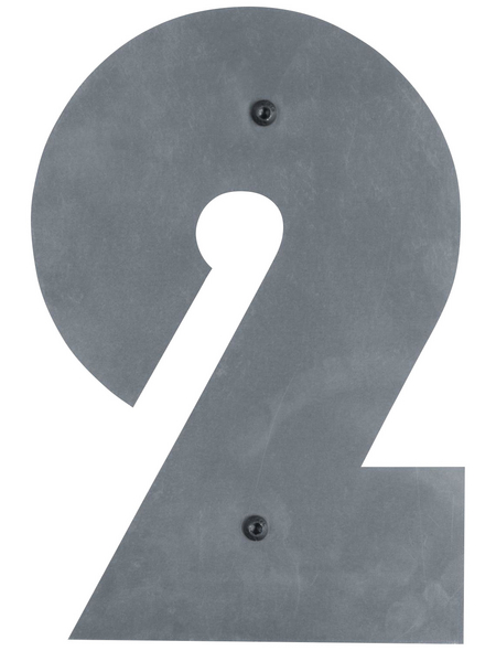 BELLISSA Hausnummer Nr. 2, braun