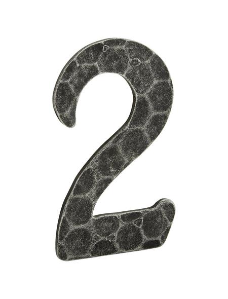 ANSAPRO Hausnummer Nr. 2, schwarz