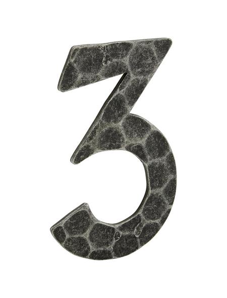 ANSAPRO Hausnummer Nr. 3, schwarz