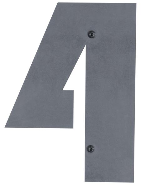 BELLISSA Hausnummer Nr. 4, braun