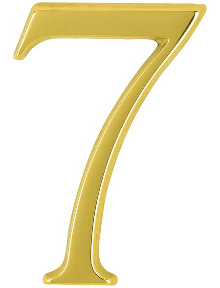 ANSAPRO Hausnummer Nr. 7, goldfarben