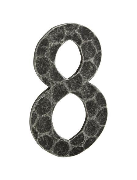 ANSAPRO Hausnummer Nr. 8, schwarz