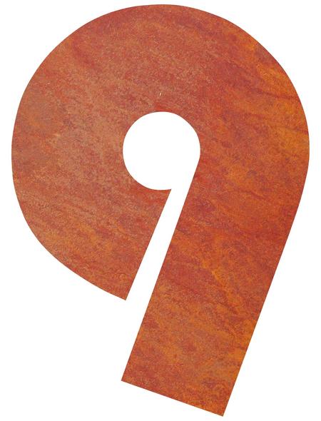 BELLISSA Hausnummer Nr. 9, braun