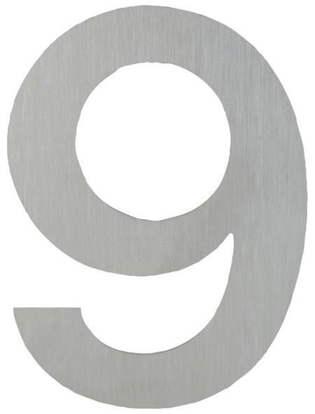 ANSAPRO Hausnummer Nr. 9, silberfarben