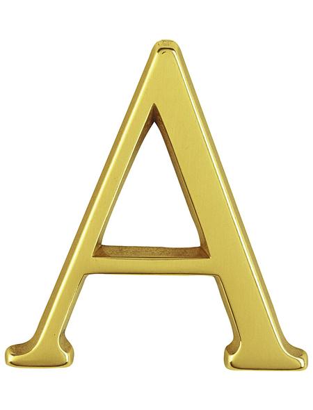 ANSAPRO Hausnummer Nr. A, goldfarben
