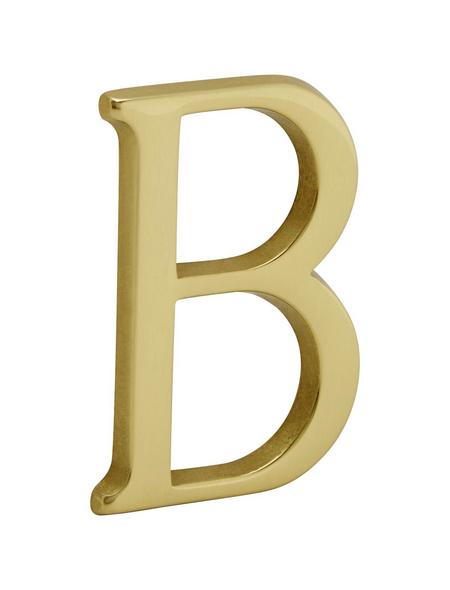 ANSAPRO Hausnummer Nr. B, goldfarben
