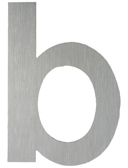 ANSAPRO Hausnummer Nr. B, silberfarben