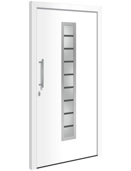 RORO Haustür »Newhaven«, Aluminium, weiß