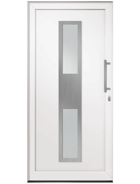 RORO Haustür »R103 Basic«, Kunststoff, weiß