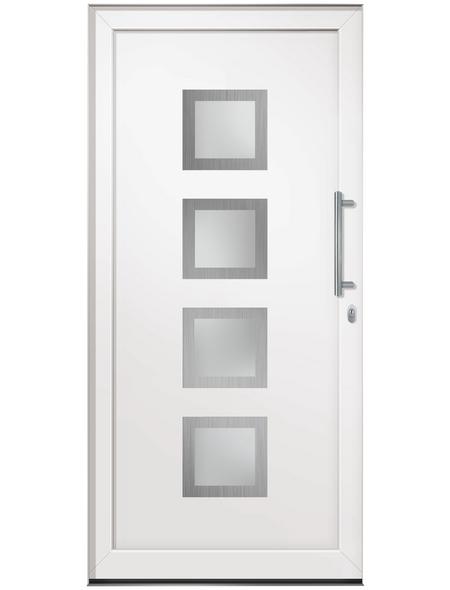 RORO Haustür »R105 BaSic«, Kunststoff, weiß