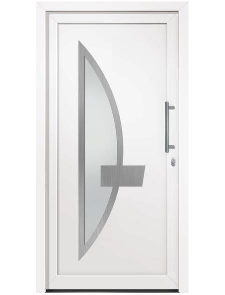 RORO Haustür »R106 Basic«, Kunststoff, weiß