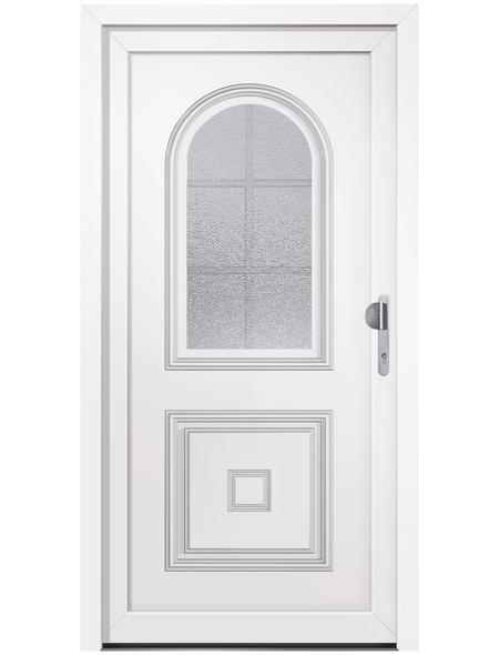 RORO Haustür »R109 Basic«, Kunststoff, weiß