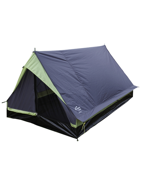 EXPLORER Hauszelt »Minipack«, Für: 2 Personen, grün/grau