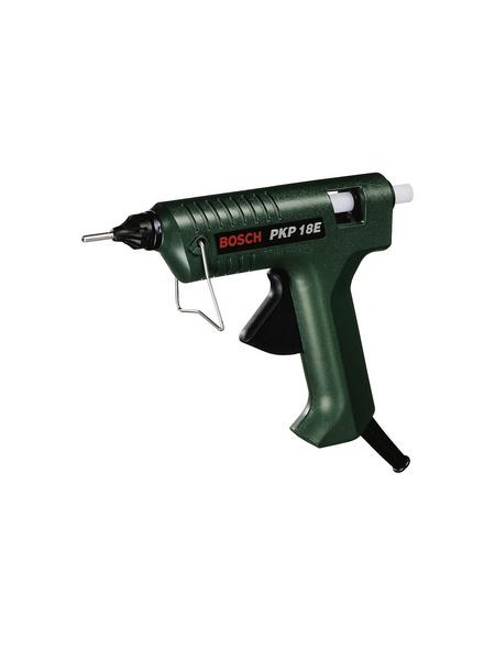 BOSCH HOME & GARDEN Heißklebepistole »PKP 18-E«, schwarz/grün