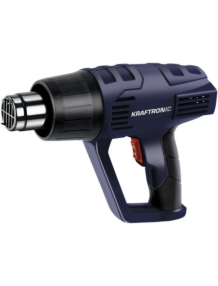KRAFTRONIC Heißluftpistole »KT-HG 2000«, 2000 W, 2 Temperaturstufen