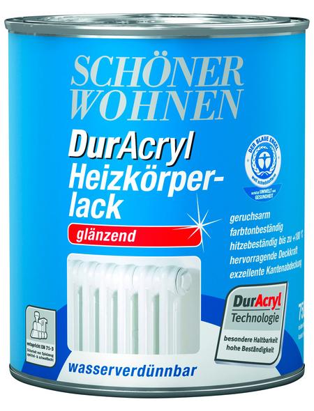 SCHÖNER WOHNEN FARBE Heizkörperlack »DurAcryl glänzend«, weiß hochglanz , glänzend