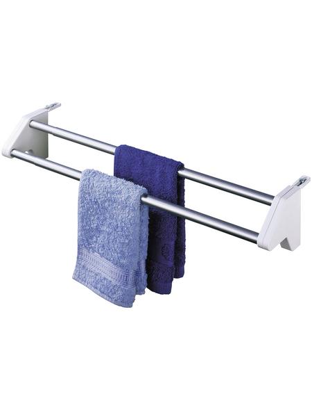WENKO Heizkörpertrockner »Standard«, silberfarben-weiss, für Handtücher