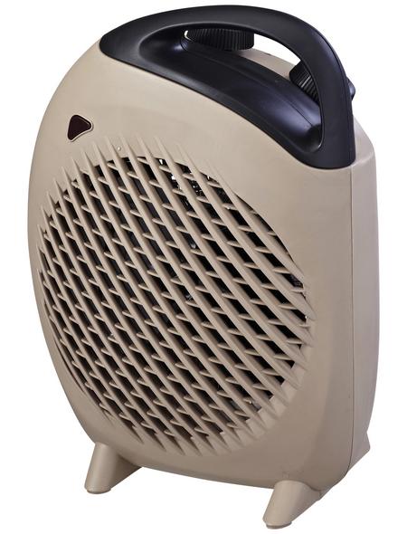 CASAYA Heizlüftgerät, max. Heizleistung: 2 kW, für Räume bis 60 m³