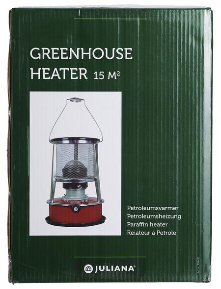 JULIANA Heizung für Gewächshäuser, Petroleum, Stahl/Glas