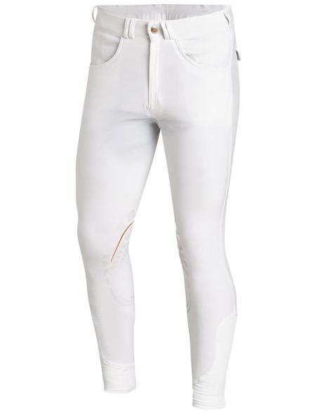 Schockenmöhle Sports Herrenreithose Draco Grip, Größe: 54, white