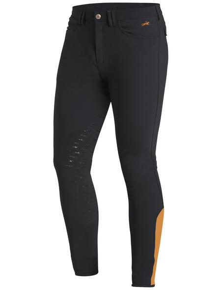 Schockenmöhle Sports Herrenreithose Hero FS, Größe: 98, grey/orange