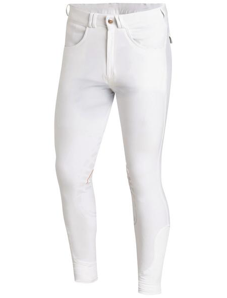 Schockenmöhle Sports Herrenreithose Leo Grip, Größe: 48, white