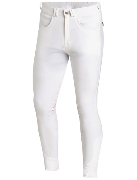 Schockenmöhle Sports Herrenreithose Leo Grip, Größe: 98, white