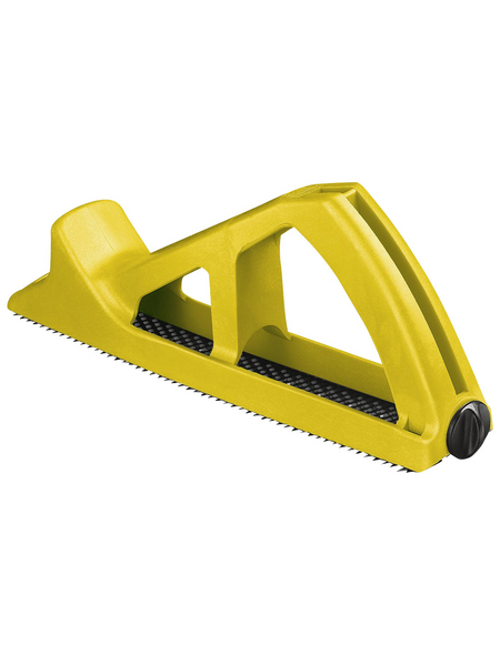 STANLEY Hobel, Surform, Gelb, Kunststoff, Länge: 27 cm