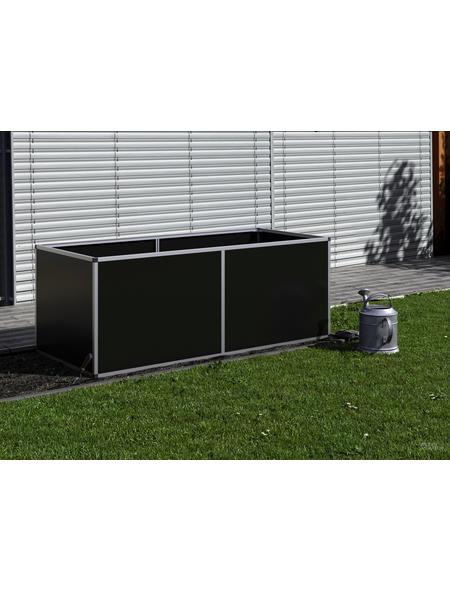 KGT Hochbeet »Aluminium-Hochbeet 210«, B x L x H: 205 x 91 x 77 cm