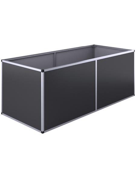 KGT Hochbeet »Aluminium-Hochbeet 210«, BxHxL: 205 x 77 x 91 cm, Aluminium