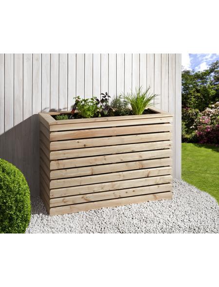 Hochbeet »Rhombus«, BxHxL: 40 x 80 x 120 cm, Lärchenholz