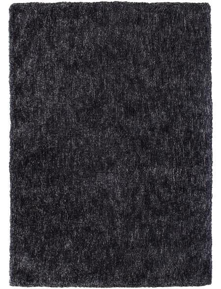 Hochflor-Teppich »BB«, BxL: 140 x 200 cm, lavagrau