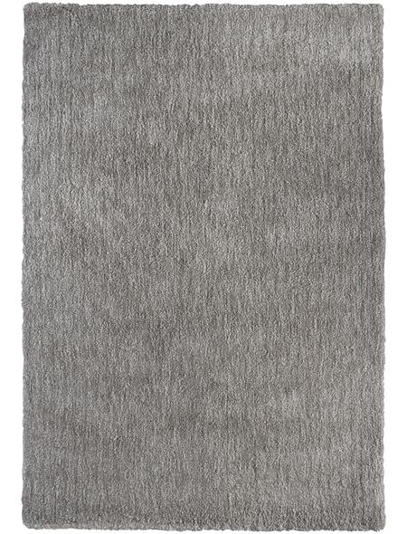 Hochflor-Teppich, BxL: 160 x 230 cm, beige