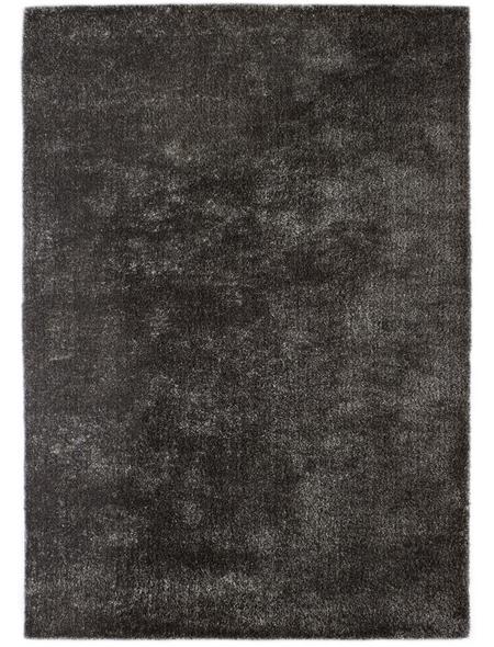 ANDIAMO Hochflor-Teppich »Manarolo«, BxL: 130 x 135 cm, anthrazit