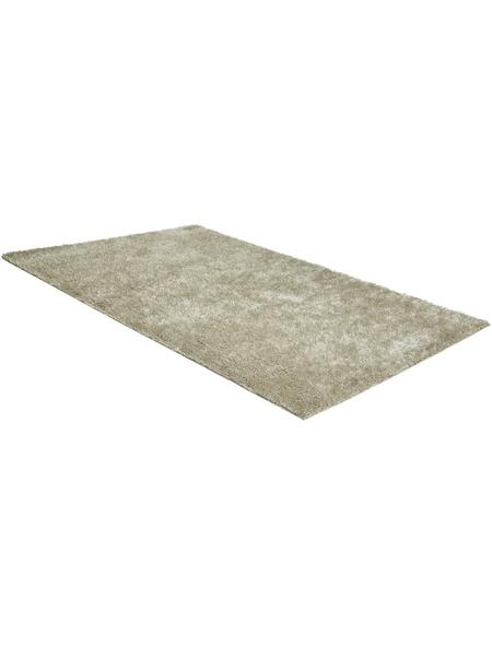 ANDIAMO Hochflor-Teppich »Manarolo«, BxL: 65 x 135 cm, beige
