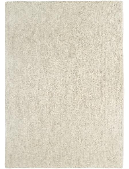 LUXORLIVING Hochflor-Teppich »San Remo«, BxL: 140 x 200 cm, beige