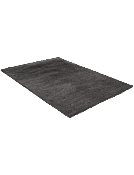 LUXORLIVING Hochflor-Teppich »San Remo«, BxL: 140 x 200 cm, grau