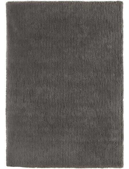 LUXORLIVING Hochflor-Teppich »San Remo«, BxL: 70 x 140 cm, grau