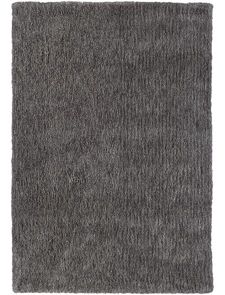 Hochflor-Teppich »Touch«, BxL: 160 x 230 cm, taupe