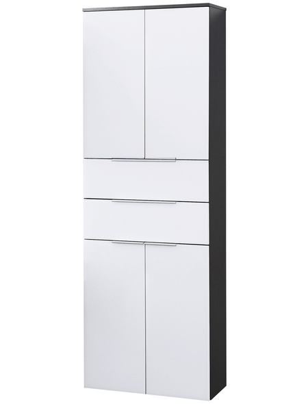 FACKELMANN Hochhängeschrank, BxHxT: 61 x 176 x 32 cm