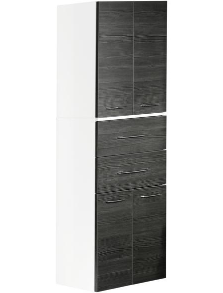 FACKELMANN Hochhängeschrank, BxHxT: 70,5 x 169 x 32 cm