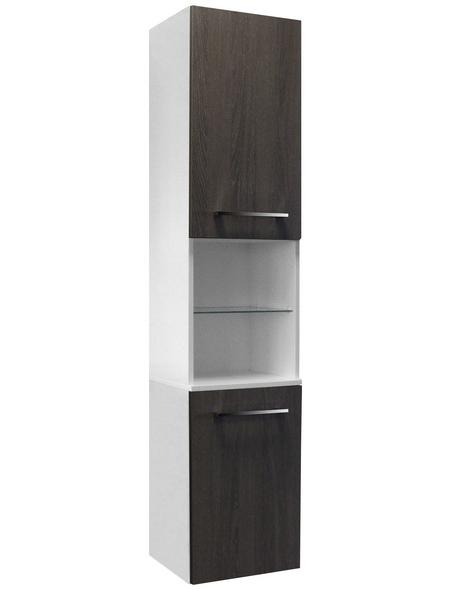 FACKELMANN Hochhängeschrank »Rondo«, BxHxT: 35,5 x 169 x 32 cm