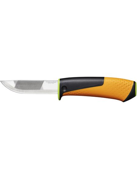 FISKARS Hochleistungsmesser, StaySharp, Schwarz   Grün   Orange, 91 mm, Stahl, Kunststoff
