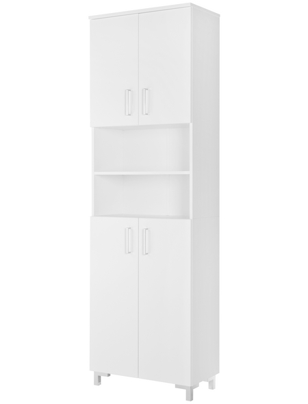 FACKELMANN Hochschrank, BxHxT: 60,5 x 200 x 32,5 cm