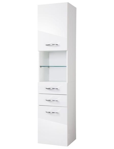 FACKELMANN Hochschrank BxTxH: 40 x 175,5 x 36,5 cm