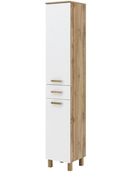 SCHILDMEYER Hochschrank »Dabor«, BxHxT: 32,7 x 191,5 x 35,3 cm