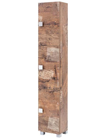 SCHILDMEYER Hochschrank »Edia«, BxHxT: 30 x 167,6 x 23,3 cm